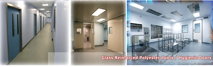 Glass Reinforced Polyester doors / Hygienic Doors & Fensys Middle East Doors \u0026 Windows LLC FENSYS MIDDLE EAST LLC ...